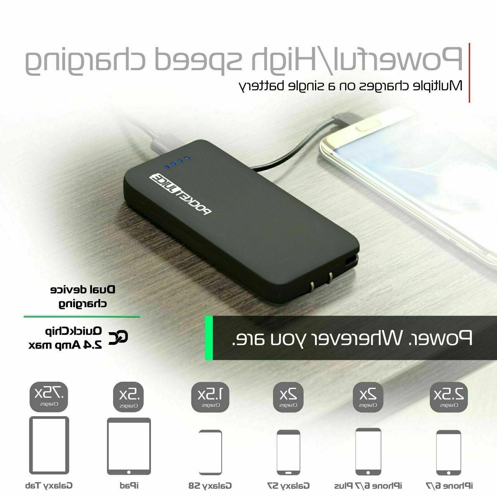 Tzumi 6000 Portable Charger Fast