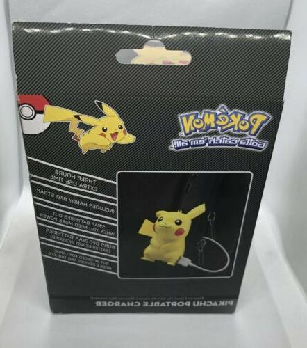 Pokemon Pikachu USB Charger Cell Tablet Adult Gift