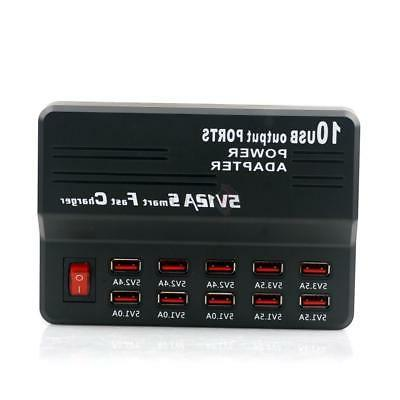Portable USB Home Travel Output US Adapter