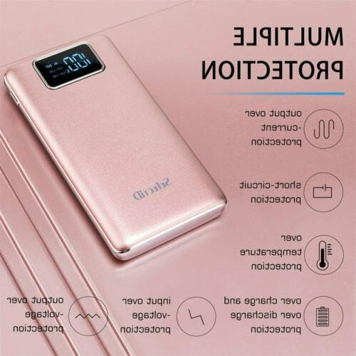 100000MAH BANK PORTABLE EXTERNAL BATTERY USB FOR MOBILE