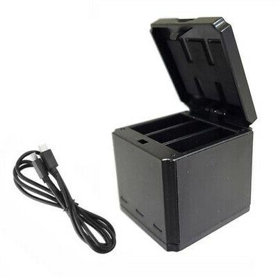 Portable 3 Charger Box For Gopro Hero 5