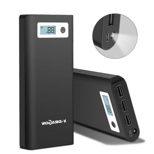 Portable 300000mAh Backup Charger for Cell Phone