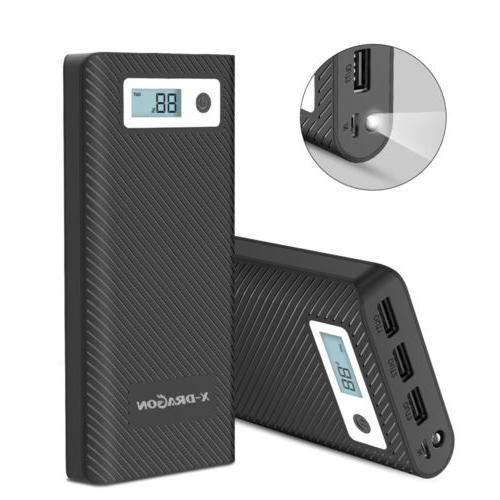Portable Bank Backup External Charger for