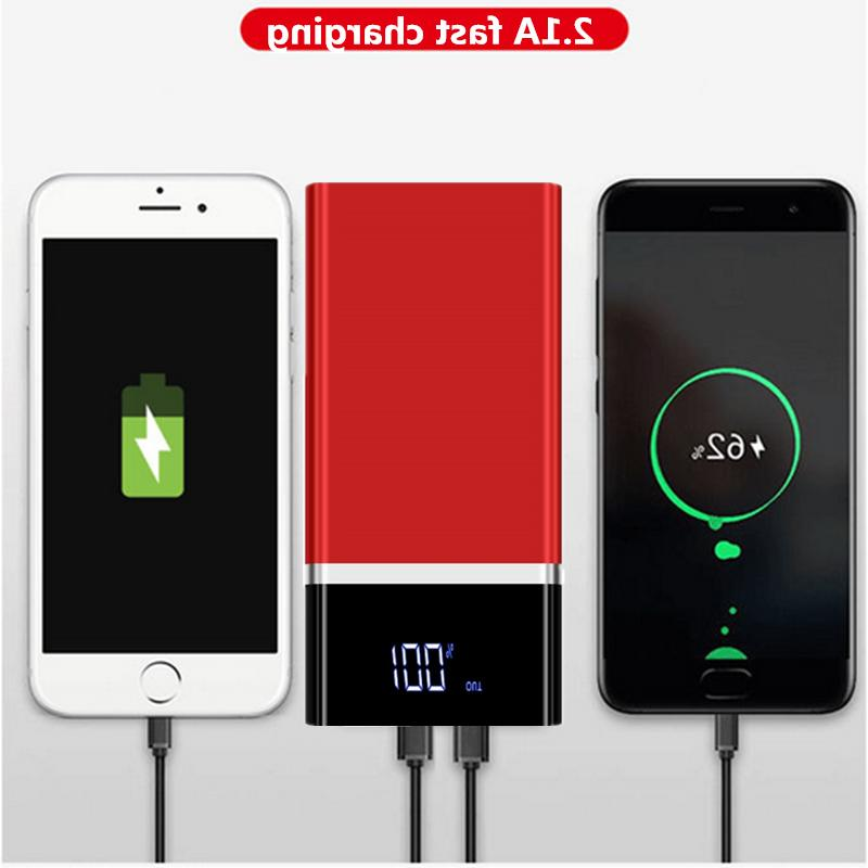 Portable 900000mAh Ultra-thin Power Bank External Battery Fast