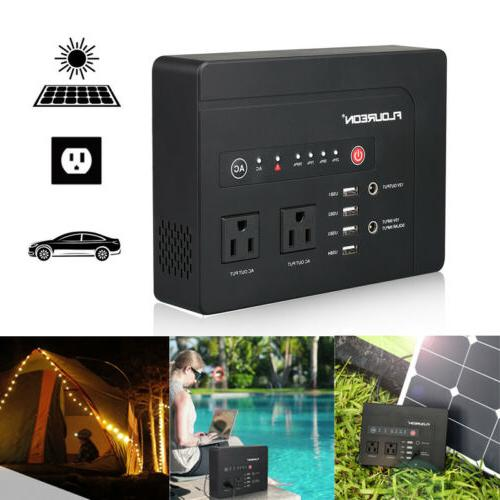 portable ac120v 146wh power station home camping