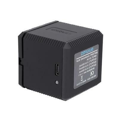 Portable Battery Charger Slots GoPro Camera Black SP
