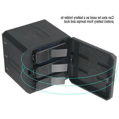 portable battery charger 3 slots usb charger