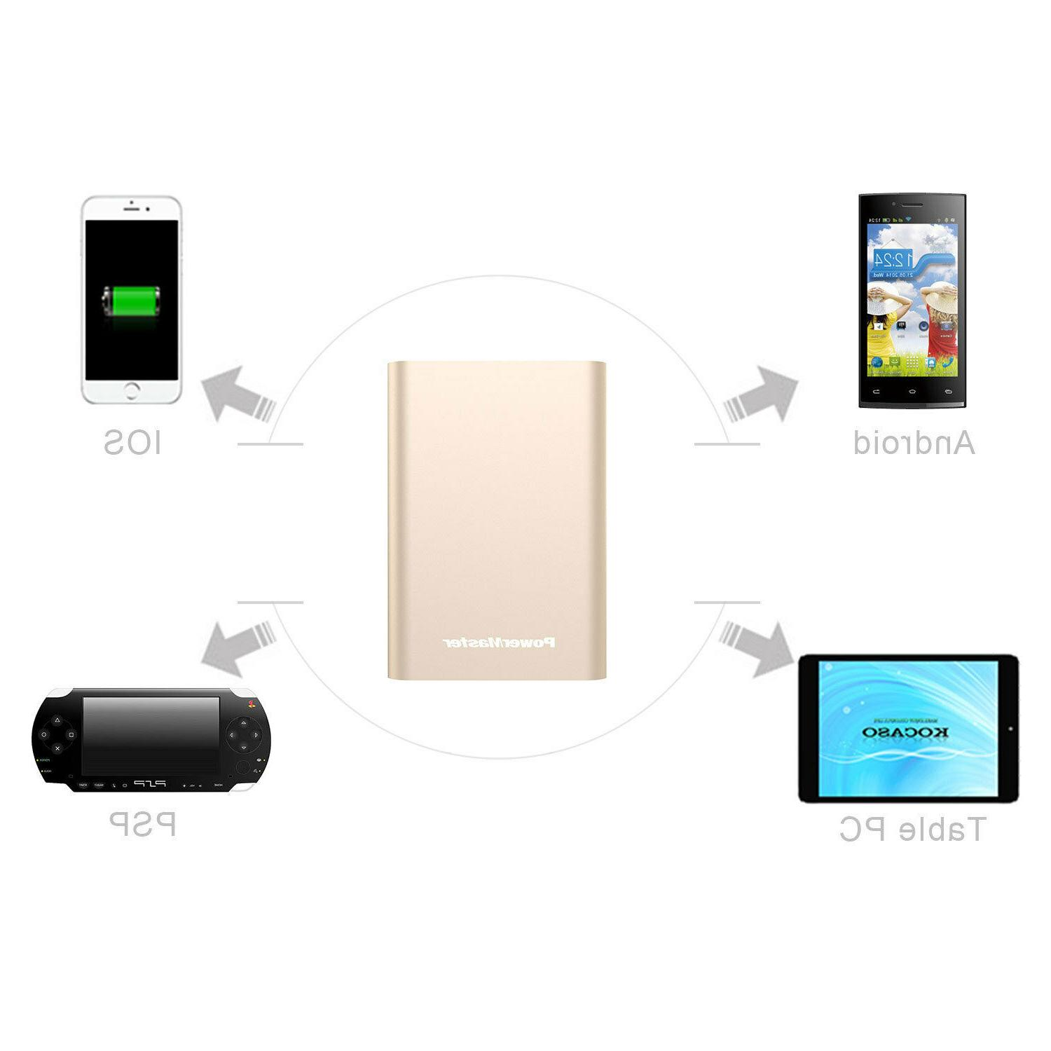 Portable Charger, Bank External for iPhone X 8 Samsung LG