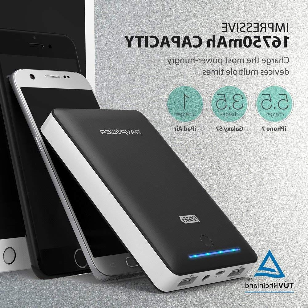 RAVPower Charger 16750mAh External Battery Bank with