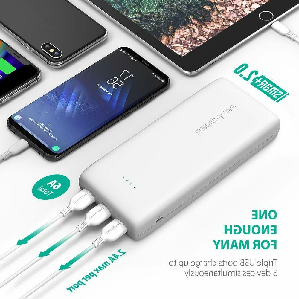 Portable Charger 32000 RAVPower 32000mAh Output
