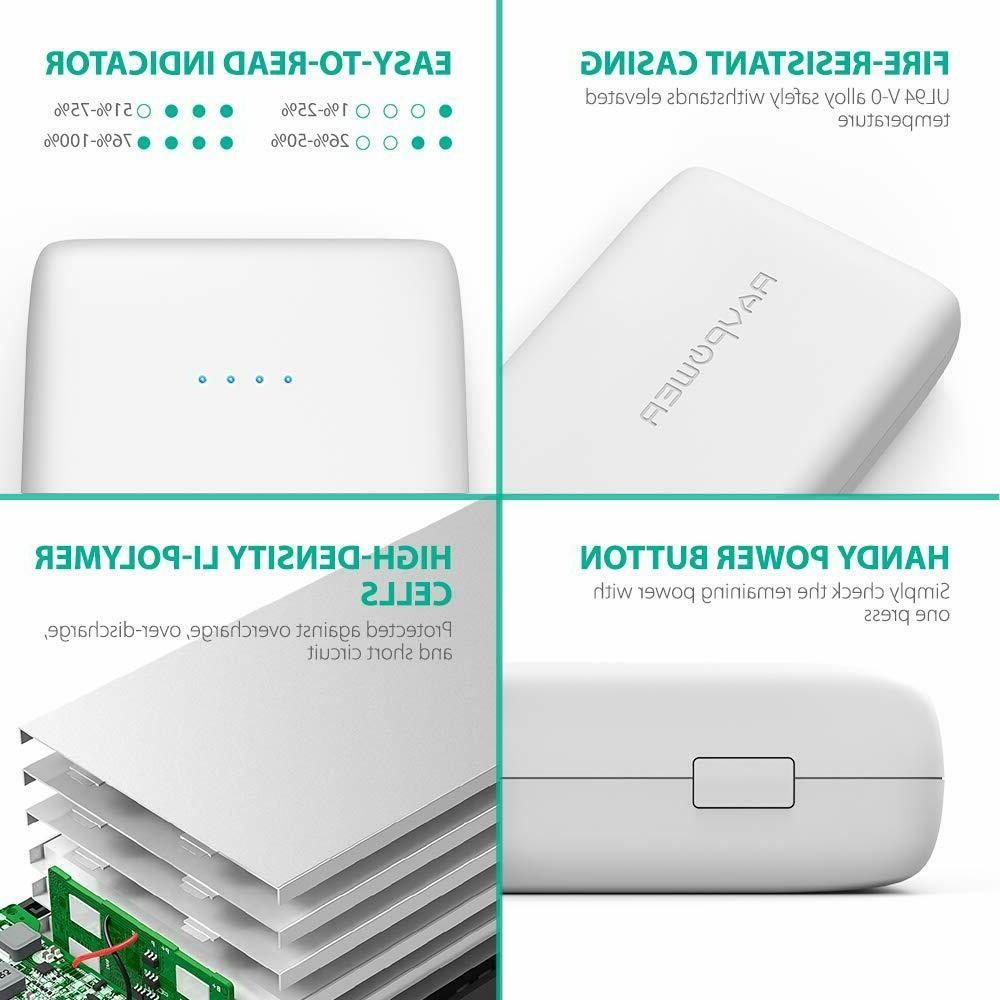 Portable Charger RAVPower 32000mAh Output