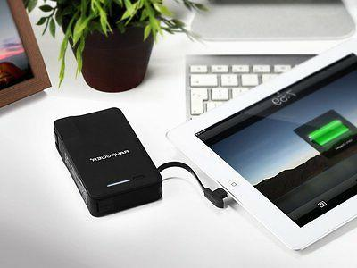 Portable Charger RAVPower 9000mAh Power with AC Plug, Apple MFI