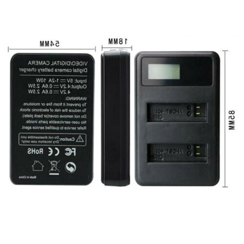Portable Charger Charger GoPro AHDBT-401,AHBBP-401