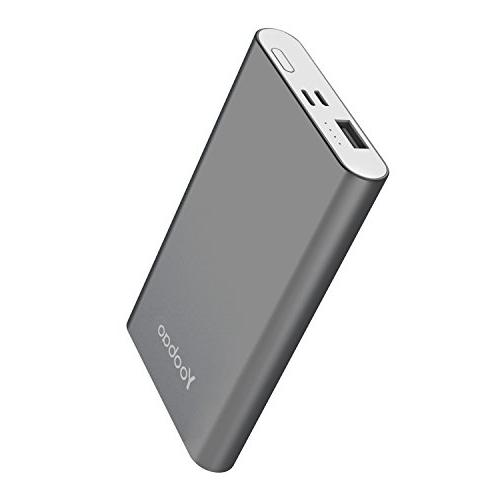 Yoobao Portable Charger Bank Input Slim External Cellphone Battery Pack Compatible 8 7 Android Samsung etc-