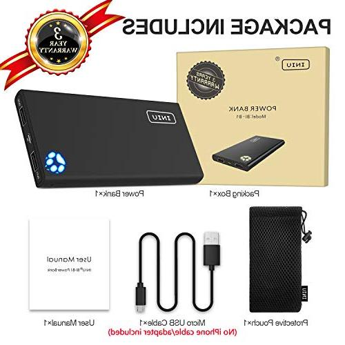 Power USB External Backup Ultra Compact Compatible with iPhone X 8 Phone