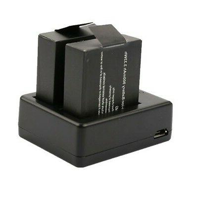 portable dual battery usb charger for gopro