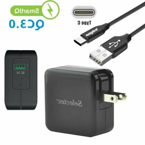 portable fast charger 6ft usb type c