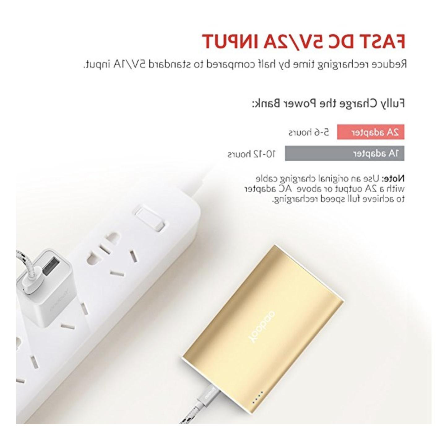Portable iPhone Charger, Yoobao Power External Charger Power