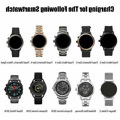 Portable Magnetic Charging USB Fossil Smart Watch