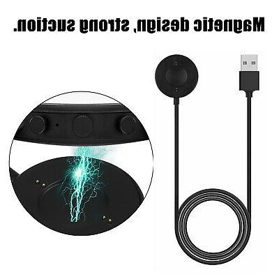 Portable Magnetic Charging Dock USB Charger For Fossil