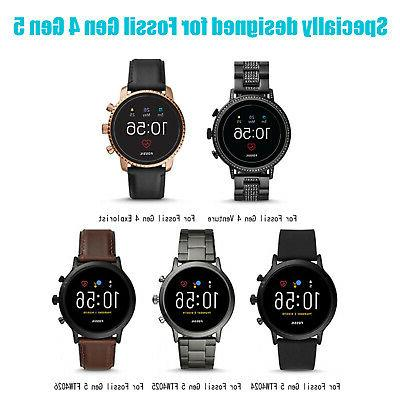 Portable Magnetic Charging Dock USB Charger Fossil Gen 5 Smart Watch