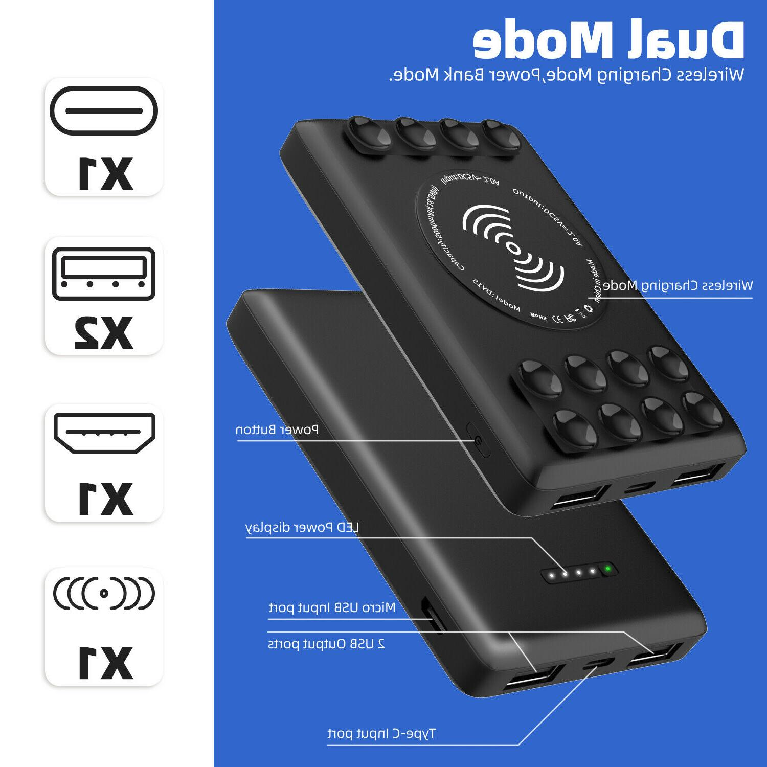 Portable Power Qi Phone Charger 2