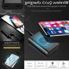 Portable Qi Wireless Charging Pad Battery Charger Power Bank