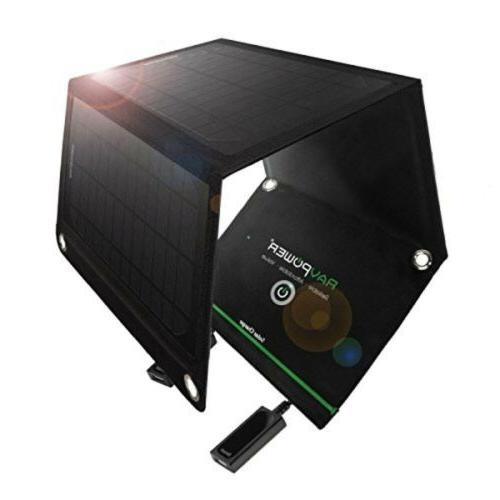 portable solar charger foldable