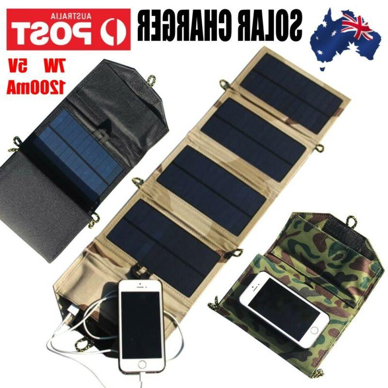 portable solar charger for iphone phone 7w