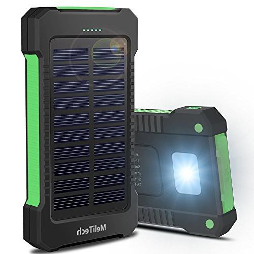 portable solar charger waterproof mobile