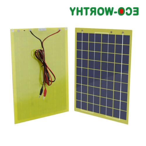 portable solar panel battery charge