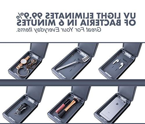 Portable Cell Phone – Disinfection for iPhone 6 6s 7s Plus Aromatherapy Cleaner