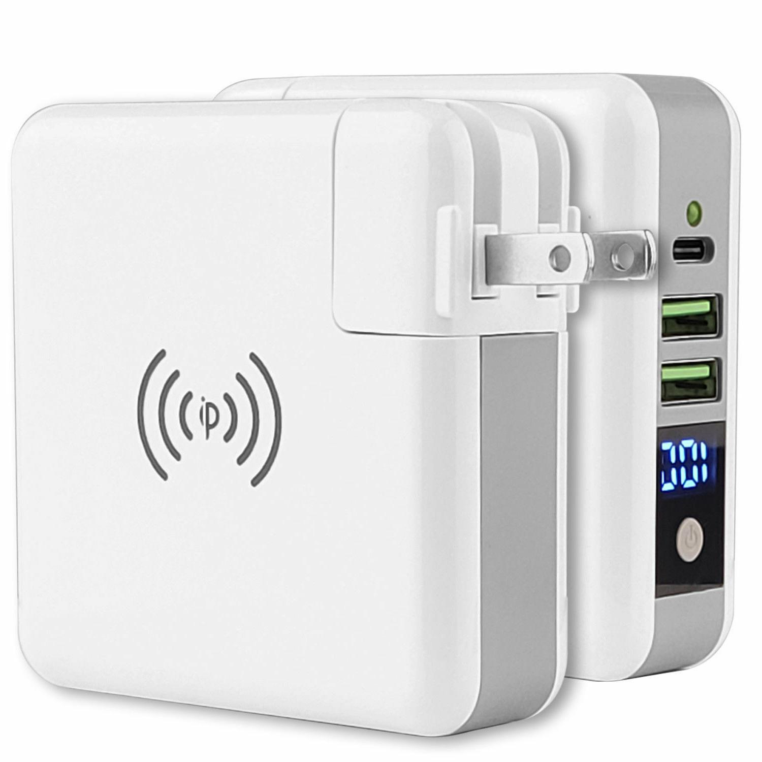 portable wireless charging power bank quick fast