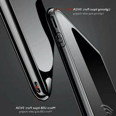 Power 10000mAH Qi Charger Portable Polymer