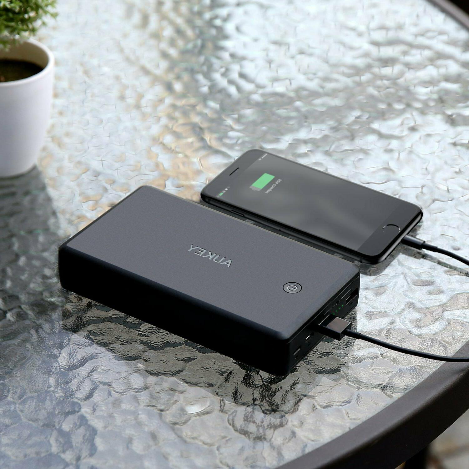 AUKEY Power Quick 3.0 Charger, Battery