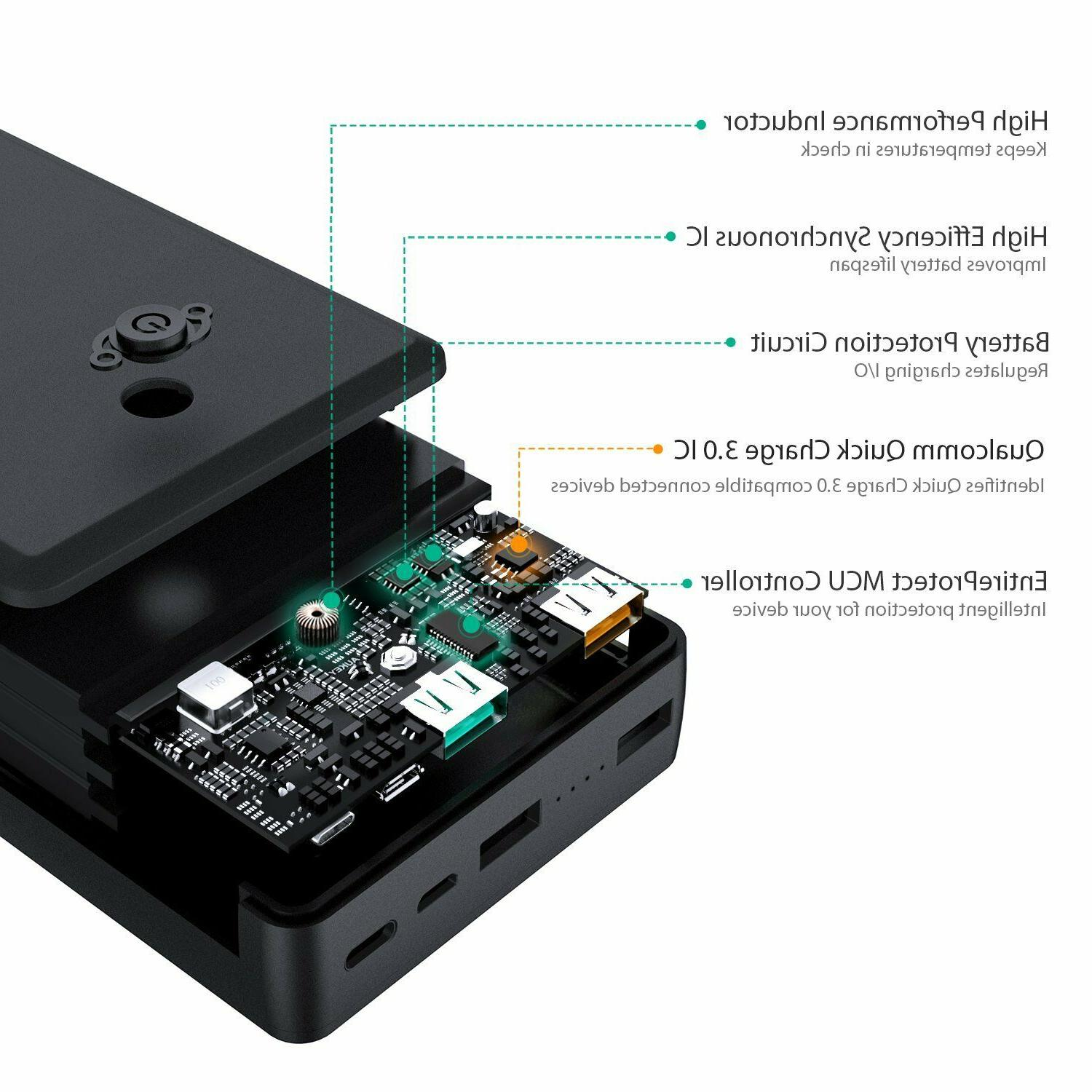 AUKEY Quick Charge Portable Charger,