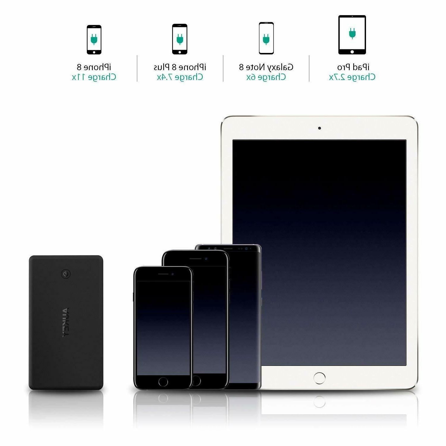 AUKEY Bank 26500mAh, Quick Charger,