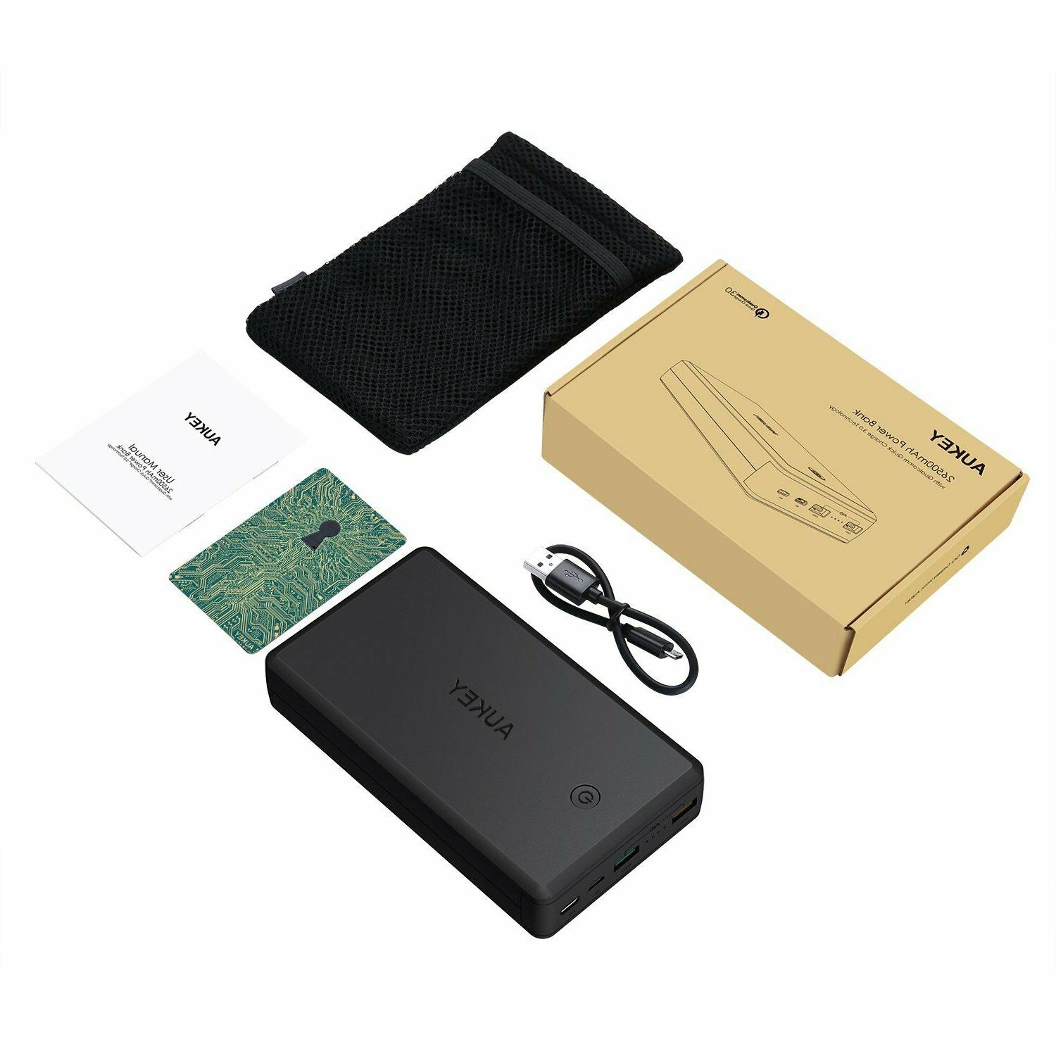 AUKEY Power Bank Quick Charger,