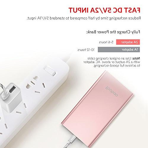 Yoobao Portable Slim Power Backup Charger with Dual Compatible iPhone Plus More