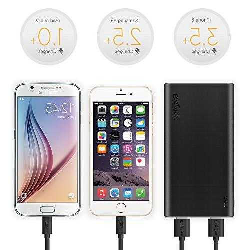 EasyAcc Brilliant External Battery Classic iPhone Smartphones Tablets - and Grey