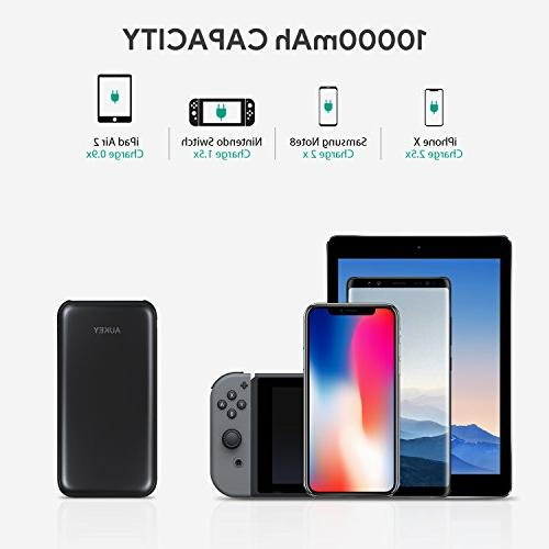 AUKEY Power Delivery Power Bank, Power Bank, 18W Charger with Quick 3.0 Max, Nintendo Switch