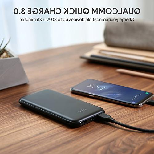 AUKEY Bank, PD Bank, 18W USB-C Portable Charger Quick 3.0 iPhone Max, Samsung, Switch etc.