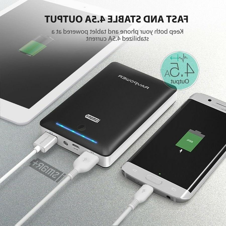 RAVPower Power Chargers Android Portable 2.0 16750mAh