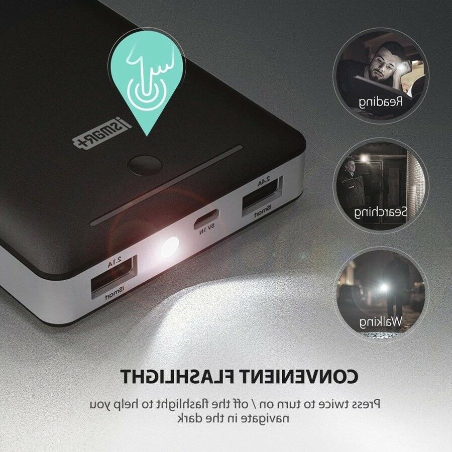 RAVPower Chargers Iphone Android 2.0 Port 16750mAh