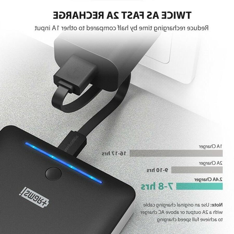 RAVPower Power Bank Chargers Iphone Android 2.0 USB Port 16750mAh