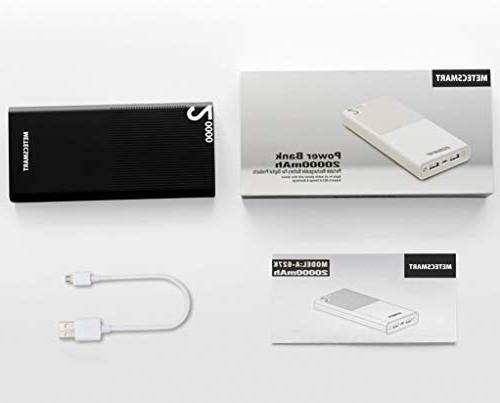 20000mah - 3.0 Powerbank Charging Mobile Battery Pack Compatible Switch Cell iPhones max Samsung Metecsmart
