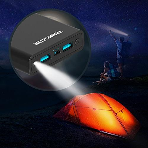 Power Bank 20000mah Quick Charge 3.0 Charging Mobile External Battery Pack Compatible Nintendo Cell max XS 7 8 Samsung