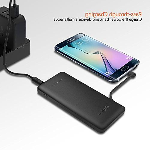 EasyAcc Portable Charger with Micro USB for