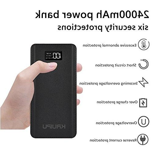 Power Charger Battery Pack OutPut Ports Capacity Backup Battery Compatible Phone Almost All Phone