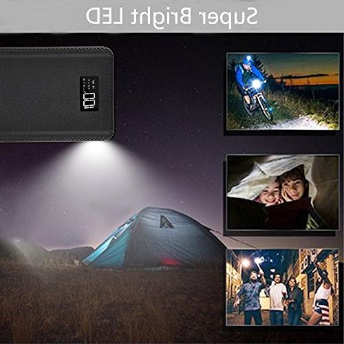 Power Bank 24000mAh Charger Pack 4 OutPut Huge Backup Battery Phone Almost Phone And
